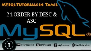MYSQL Tutorials In Tamil 24 ORDER BY DESC&ASC