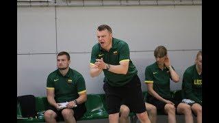 Rungtynių komentarai: U-16 merginų Baltijos taurė: Lietuva - Latvija