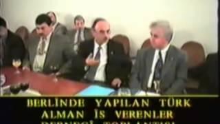 Didim Berlin Türk iş adamları toplantısı Arşiv