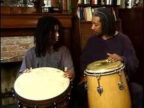 Bashiri Johnson Teaches a Rhythm Video