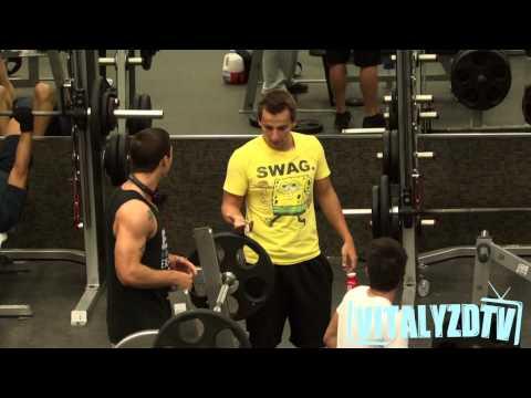 Prank: Lite elakheter på gymmet