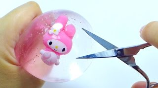 Video Freezing & Cutting Open My Melody Water Pudding Squishy MP3, 3GP, MP4, WEBM, AVI, FLV Oktober 2018