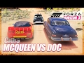 Forza Horizon 3 Cars Recreation mcqueen Vs Doc Hudson