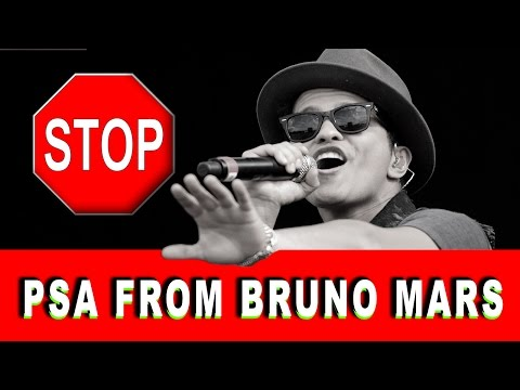 Bruno Mars Uptown Funk PSA
