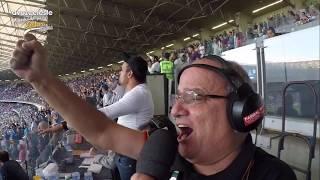 Emoção do gigante, Osvaldo Reis Pequetito, no gol de empate do Cruzeiro contra o Flamengo. Sassá fez a festa do Time do...