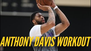Inside Lakers Practice: Anthony Davis Prepares For NBA Return by Lakers Nation