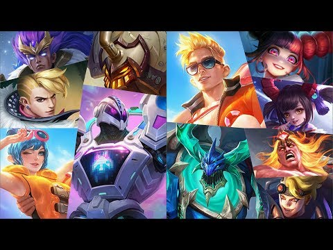 11 New Skin - Claude & Fanny Lifeguard, Uranus Video Game Dominator, Badang Leo, Thamuz Liquid Fire