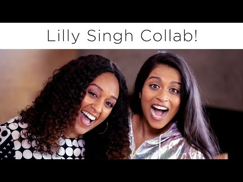 Lilly Singh & Tia Mowry On How To Start a YouTube Channel | Quick Fix