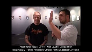 "Artist Derek Hess & Director Nick Cavalier on their ""Forced Perspective"" Documentary"