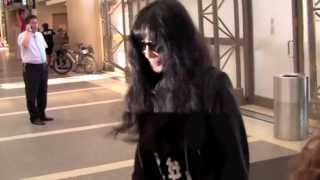 WATCH: Hollywood Super Star CHER Spotted In A Very Rock N Roll Outfit