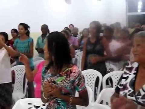 Pastor Fabiano em reunião da Igreja Universal em Uruçuí - PI