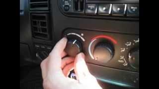 7. 2002 Dodge Dakota - Blower Motor Resistor Replacement 1997-2004