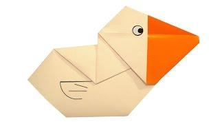 Cómo hacer origami pelícano