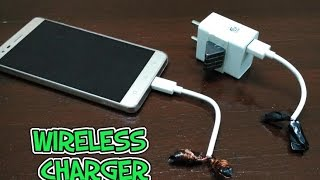 How to make a wireless USB charger Video
