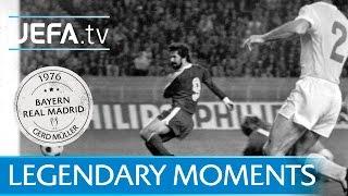 Gerd Müller gegen Real Madrid (1976)