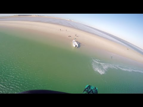 extreme kitesurfing - go pro hero 4 clip!