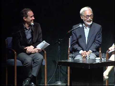 Hayao Miyazaki in Conversation with Roland Kelts .