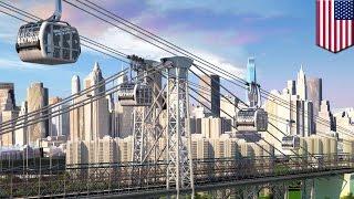ニューヨークの地下鉄混雑を解決する夢のゴンドラが誕生?