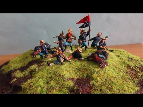 GENERAL CUSTER Far-West Story ATLANTIC 1/72 (видео)