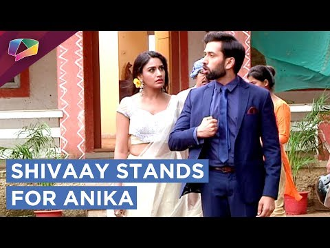 Shivaay Stands Up For Anika And Supports Her | Ish
