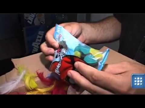 Żelkowe ptaki. Angry Birds słodkie jak cukierki