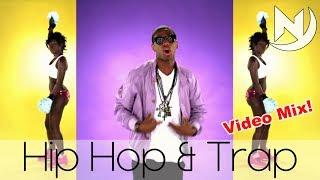 Best Hip Hop Rap & Trap Bass Boosted Party Mix 2017 | Rap Urban Hype Music & Trap / Twerk #58