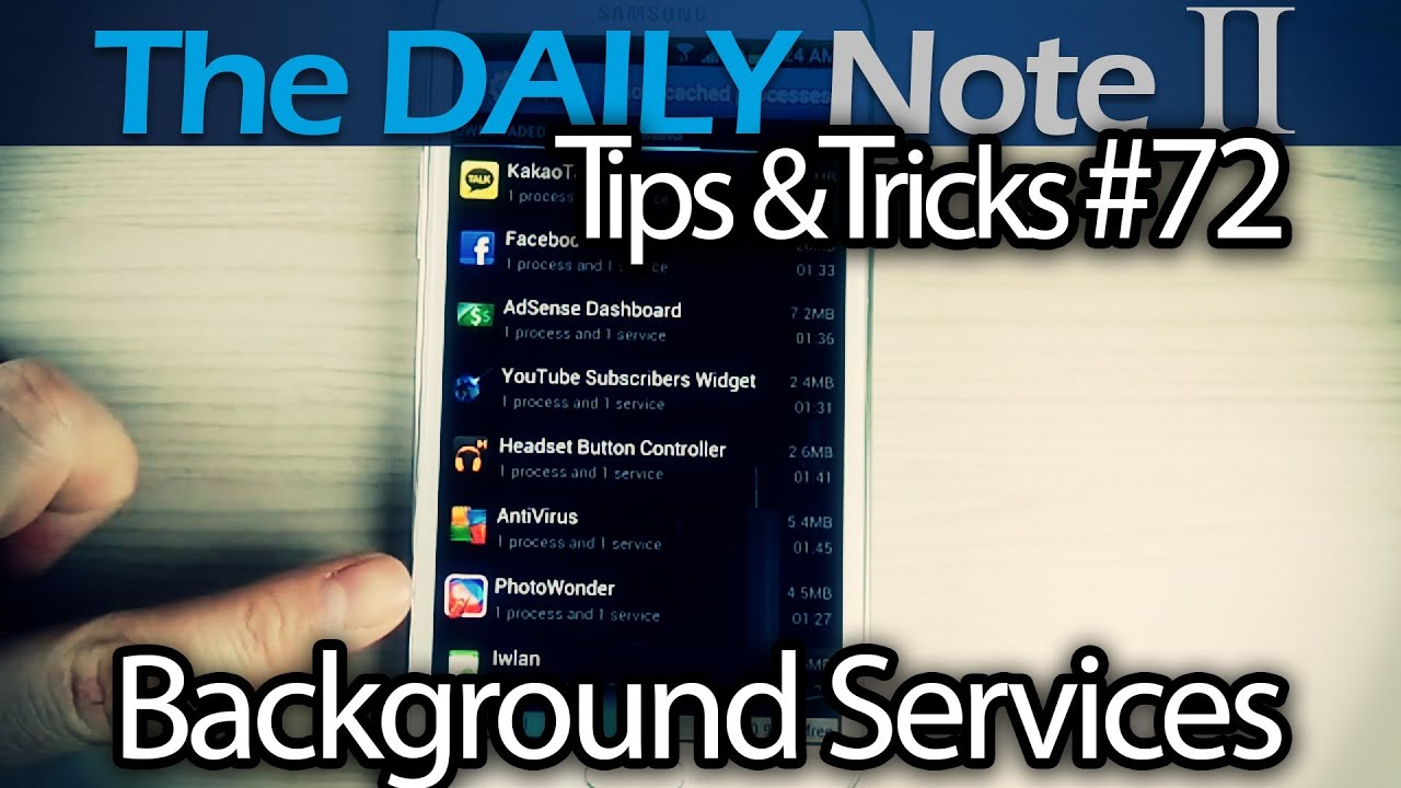 Descargar Samsung Galaxy Note 2 Tips & Tricks Ep. 72: Remove Unused Apps With Unnecessary Background Processes para Celular  #Android