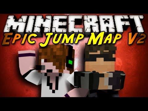Minecraft: Epic Jump Map V2 Part 1!
