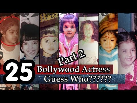 Cutest Bollywood Actress - Guess The Bollywood Actress From Childhood Pictures | Part 2 |