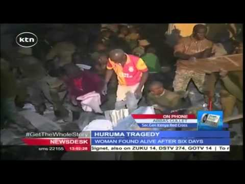 Death toll from the Huruma collapsed house rises as rescue operations enters day 6