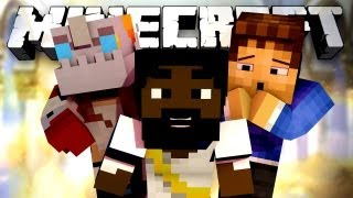 MAD JESUS! (Minecraft Hunger Games Episode 30 with Woofless, Nooch, and MaximusBlack!)