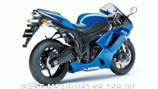 8. 2009 Kawasaki Ninja ZX-6R Specs and Review