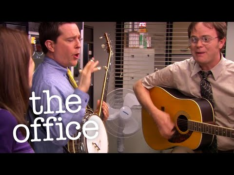 Dwight and Andy's MUSICAL DUEL for Erin  - The Office US