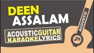 Video Nisa Sabyan - Deen Assalam (Karaoke Acoustic Cover) MP3, 3GP, MP4, WEBM, AVI, FLV Juni 2018