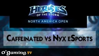 Caffeinated vs Nyx eSports - Road to Blizzcon - NA Open - Qualifiers Day 2