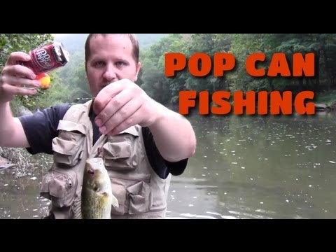 How to catch a fish with a soda can trusper for How to catch a fish