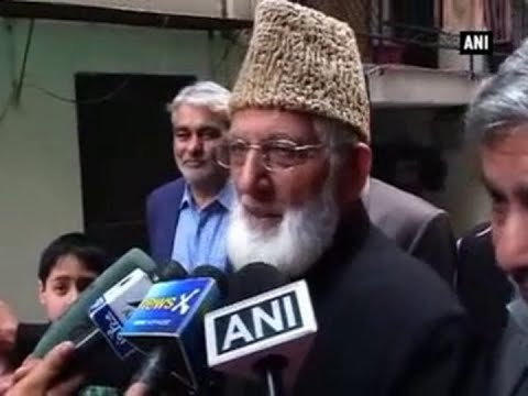 Geelani calls for shutdown in Srinagar over Udhampur attack