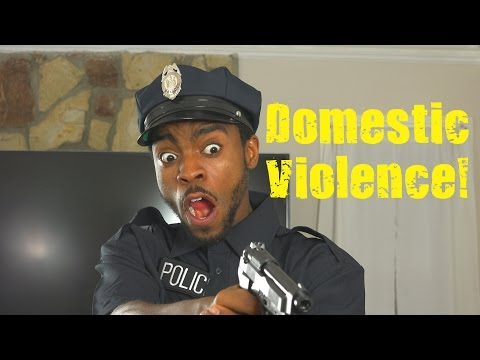Domestic Violence P.S.A. 😂COMEDY😂 (David Spates) 4K