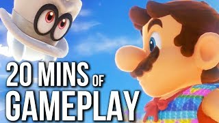 Enjoy 20 Minutes of Super Mario Odyssey Gameplay on Nintendo Switch at E3 2017. ►Subscribe For More - http://goo.gl/z4enAW ►Twitter - https://twitter.com/twe...