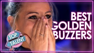 Video Unbelievable GOLDEN BUZZERS On Got Talent! | Top Talent MP3, 3GP, MP4, WEBM, AVI, FLV Juni 2019