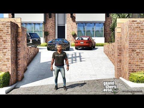 GTA 5 REAL LIFE MOD #514 NEW CRIB AND GARAGE!!! (GTA 5 REAL LIFE MODS)  #gta5 #gta (видео)