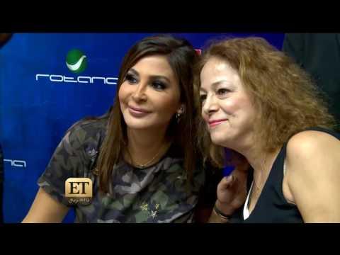"""شاهد- ماذا فعل جمهور إليسا في حفل توقيع ألبومها الجديد """"سهرنا يا ليل"""""""