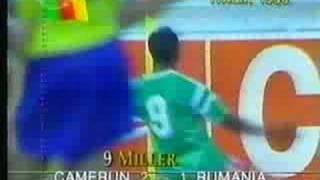 Roger Millas Tor gegen Rumänien (1990)