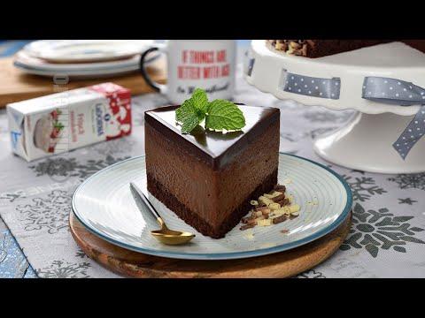 Tort cu mousse de ciocolata | JamilaCuisine