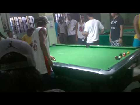 Vamer(malolos)7,10 vs Edgie Geronimo money game 7,700 part 2 (видео)