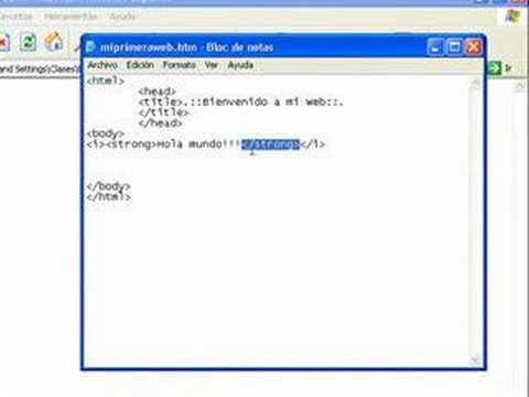 .::Lenguaje Básico HTML Parte 01::.