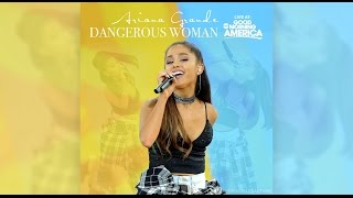 Ariana Grande on GMA DW Album Release Concert Performance PLUS 1 Extra Song Not Seen on TV