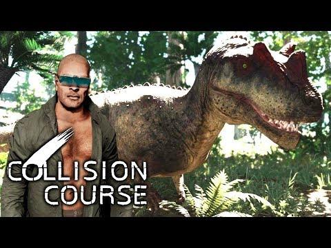 Download Collision Course - Gefährlicher Ceratosaurus & mein Bruder, der NPC! | LP Collision Course Deutsch HD Mp4 3GP Video and MP3
