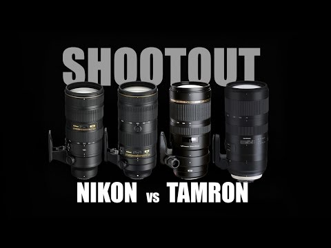 Nikon FL vs Tamron G2: The Best 70 - 200 2.8 Shootout