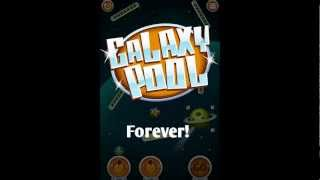 Galaxy Pool (physics game) YouTube video